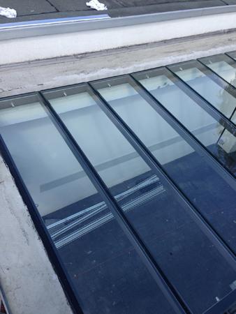 Glasüberdachung / Carport