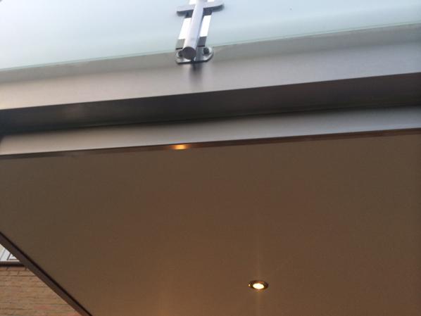 Ansetzbalkon mit Beleuchtung